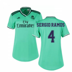 2019-2020 Real Madrid Adidas Womens Third Shirt (SERGIO RAMOS 4)