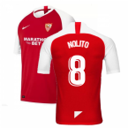 2019-2020 Sevilla Away Nike Football Shirt (NOLITO 8)