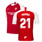 2019-2020 Sevilla Away Nike Football Shirt (PROMES 21)