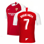 2019-2020 Sevilla Away Nike Football Shirt (ROQUE MESA 7)