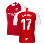 2019-2020 Sevilla Away Nike Football Shirt (SARABIA 17)