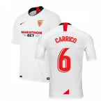2019-2020 Sevilla Home Nike Football Shirt (CARRICO 6)