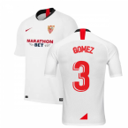 2019-2020 Sevilla Home Nike Football Shirt (GOMEZ 3)