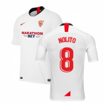 2019-2020 Sevilla Home Nike Football Shirt (NOLITO 8)