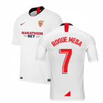 2019-2020 Sevilla Home Nike Football Shirt (ROQUE MESA 7)