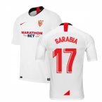 2019-2020 Sevilla Home Nike Football Shirt (SARABIA 17)