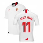 2019-2020 Sevilla Home Shirt (Kids) (ALEIX VIDAL 11)