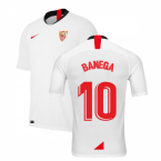2019-2020 Sevilla Home Shirt (Kids) (BANEGA 10)
