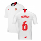2019-2020 Sevilla Home Shirt (Kids) (CARRICO 6)