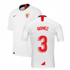 2019-2020 Sevilla Home Shirt (Kids) (GOMEZ 3)