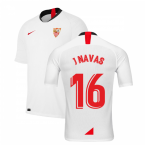 2019-2020 Sevilla Home Shirt (Kids) (J NAVAS 16)