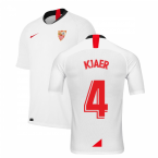 2019-2020 Sevilla Home Shirt (Kids) (KJAER 4)