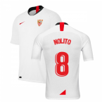 2019-2020 Sevilla Home Shirt (Kids) (NOLITO 8)
