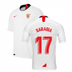 2019-2020 Sevilla Home Shirt (Kids) (SARABIA 17)