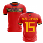 2019-2020 Spain Home Concept Football Shirt (Sergio Ramos 15)