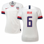 2019-2020 USA Home Nike Womens Shirt (Brian 6)