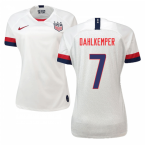 2019-2020 USA Home Nike Womens Shirt (Dahlkemper 7)