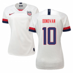 2019-2020 USA Home Nike Womens Shirt (Donovan 10)
