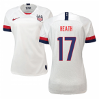 2019-2020 USA Home Nike Womens Shirt (Heath 17)