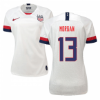 2019-2020 USA Home Nike Womens Shirt (Morgan 13)
