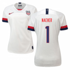 2019-2020 USA Home Nike Womens Shirt (Naeher 1)
