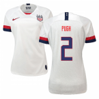 2019-2020 USA Home Nike Womens Shirt (Pugh 2)