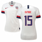 2019-2020 USA Home Nike Womens Shirt (Rapinoe 15)