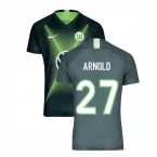 2019-2020 VFL Wolfsburg Home Nike Football Shirt (ARNOLD 27)