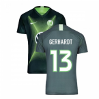 2019-2020 VFL Wolfsburg Home Nike Football Shirt (GERHARDT 13)