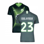 2019-2020 VFL Wolfsburg Home Nike Football Shirt (GUILAVOGUI 23)