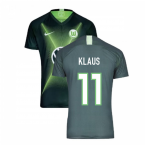 2019-2020 VFL Wolfsburg Home Nike Football Shirt (KLAUS 11)