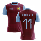 2019-2020 Villa Home Concept Football Shirt (Agbonlahor 11)