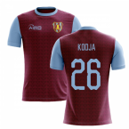 2019-2020 Villa Home Concept Football Shirt (Kodja 26)