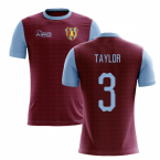 2019-2020 Villa Home Concept Football Shirt (Taylor 3)