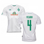 2019-2020 Werder Bremen Away Football Shirt (PIZARRO 4)