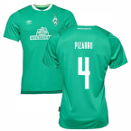 2019-2020 Werder Bremen Home Football Shirt (Kids) (PIZARRO 4)