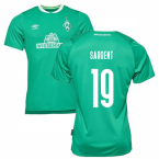2019-2020 Werder Bremen Home Football Shirt (Kids) (SARGENT 19)