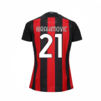 2020-2021 AC Milan Puma Home Womens Shirt (IBRAHIMOVIC 11)
