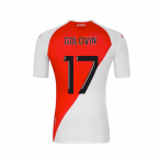 2020-2021 AS Monaco Kappa Home Shirt (GOLOVIN 17)