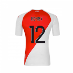 2020-2021 AS Monaco Kappa Home Shirt (HENRY 12)