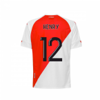 2020-2021 AS Monaco Kappa Home Shirt (Kids) (HENRY 12)