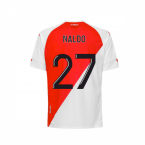 2020-2021 AS Monaco Kappa Home Shirt (Kids) (NALDO 27)