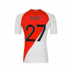 2020-2021 AS Monaco Kappa Home Shirt (NALDO 27)