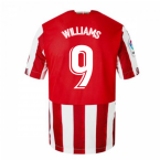 2020-2021 Athletic Bilbao Home Shirt (Kids) (WILLIAMS 9)