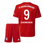 2020-2021 Bayern Munich Adidas Home Little Boys Mini Kit (LEWANDOWSKI 9)