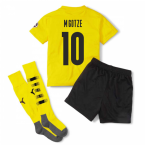 2020-2021 Borussia Dortmund Home Little Boys Mini Kit (M.GOTZE 10)