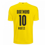 2020-2021 Borussia Dortmund Puma Home Football Shirt (M.GOTZE 10)