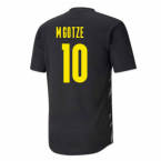 2020-2021 Borussia Dortmund Warm Up Shirt (Black-Asphalt) - Kids (M.GOTZE 10)