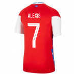 2020-2021 Chile Home Shirt (ALEXIS 7)