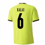 2020-2021 Czech Republic Away Puma Football Shirt (Kids) (KALAS 6)
